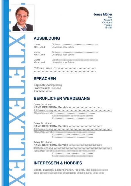 lebenslauf-muster-uberzeugend-blau