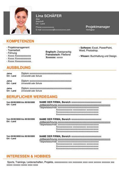 lebenslauf-muster-hightech-orange